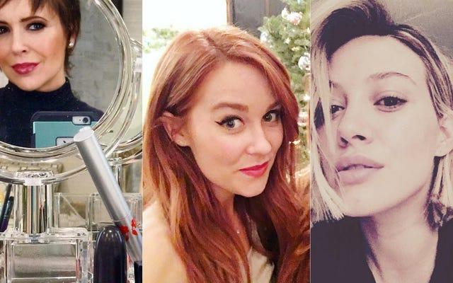 Beaucoup de célébrités de la liste B ont fait des trucs à leurs cheveux ce week-end!