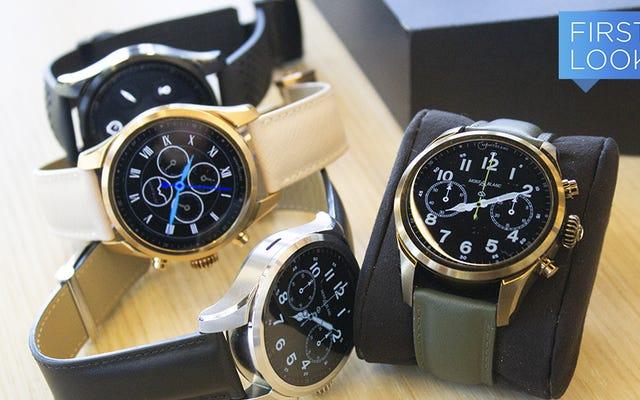 Montblanc muốn bạn trả 1.170 đô la cho Đồng hồ thông minh LTE mới của mình