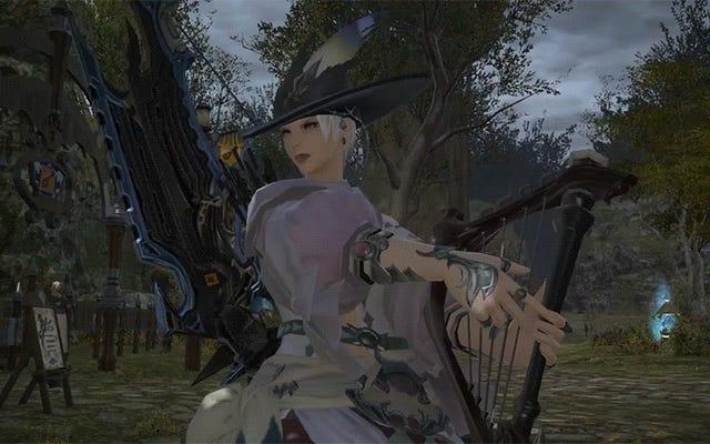 Pour le meilleur ou pour le pire, les bardes de Final Fantasy XIV peuvent jouer de la musique maintenant