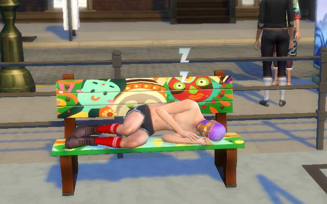 私のシムズ4ゲームに現れた上半身裸のルカドールにいくつか質問があります