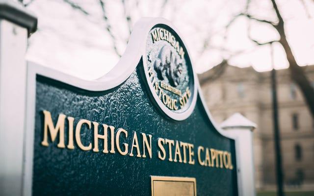 「暴力の信頼できる脅威」は、ミシガン州が選挙人団の投票に先立って立法府を閉鎖する結果となった