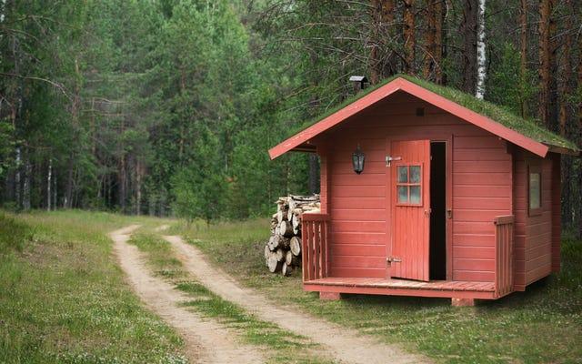 今年の冬はキャビンキャンプに行く