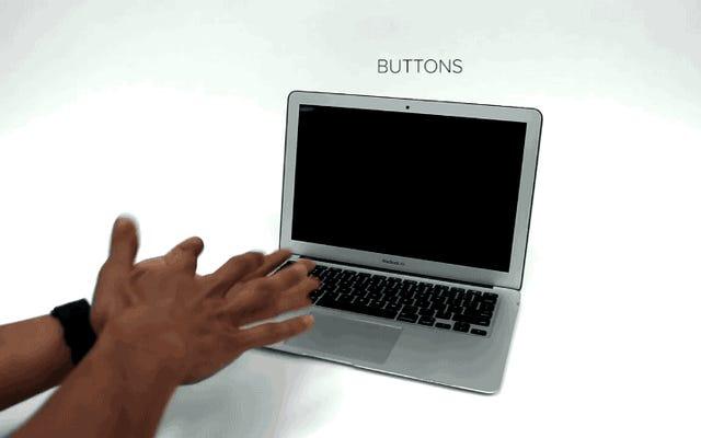 スマートウォッチ用のこのmodを使用すると、マイノリティレポートのようにPCを制御できます。