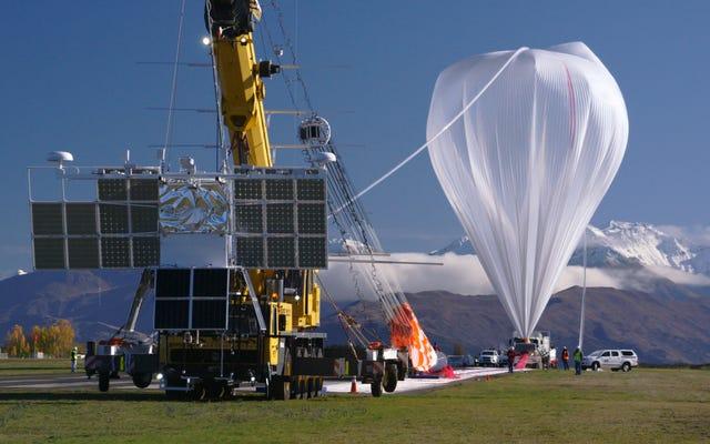 नासा के विशालकाय सुपर बैलून मिशन को जल्दी बंद कर दिया गया