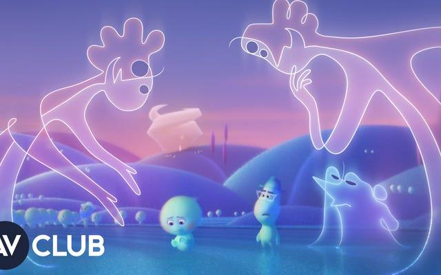 Pixar'ın Soul'u bazı büyük fikirleri ele alıyor, ancak yapımcıları genç izleyicilerin ne kadar anlayışlı olabileceğini biliyor.