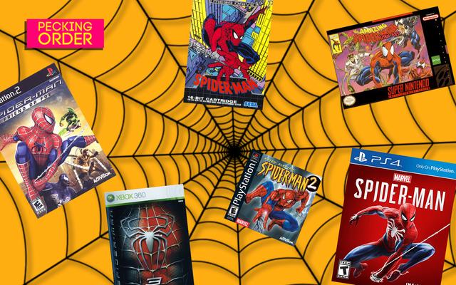 Oceńmy wszystkie gry Spider-Mana, od najgorszych do najlepszych