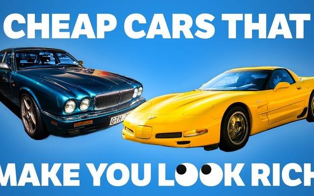Oto siedem używanych samochodów, dzięki którym wyglądasz na bogatego