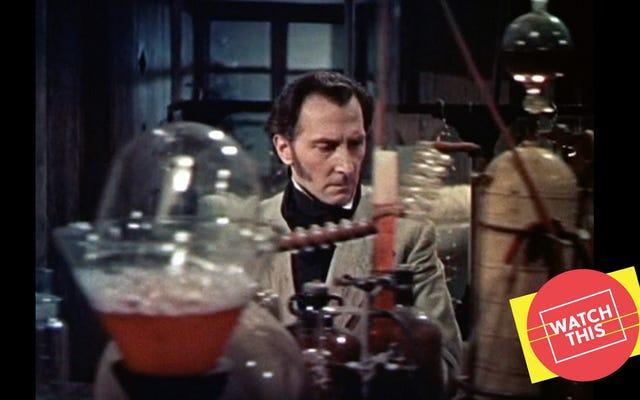 Le remaniement de Frankenstein de Hammer a donné vie à la carrière de deux stars de l'horreur britanniques
