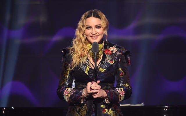 Madonna réalise vraiment son propre biopic, mais elle ne jouera pas dedans