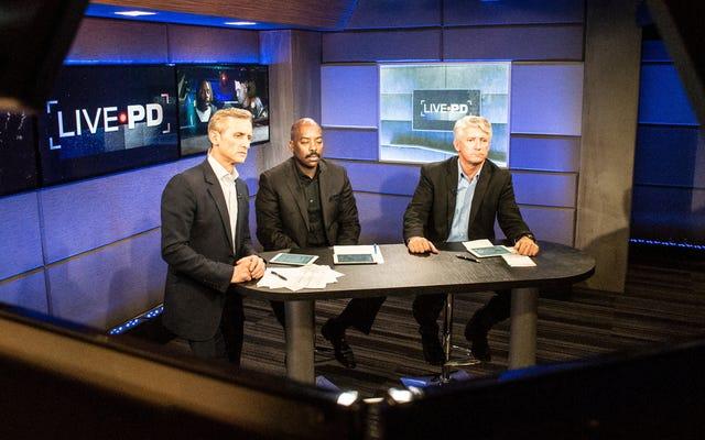 A&Eが警察のリアリティシリーズLivePDをキャンセル