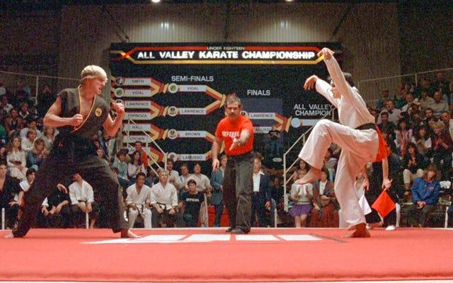YouTube Red robi serię sequeli karate Kid zatytułowaną Cobra Kai z oryginalnymi gwiazdami