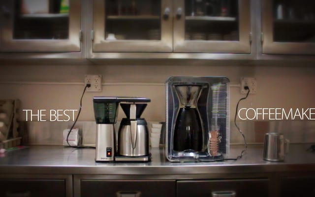 Bodum Bistro Otomatik Dökme Kahve Makinesi İçin Bir Övgü