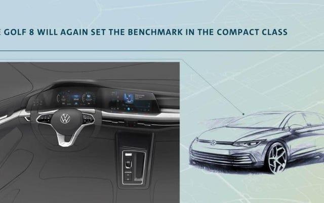 Skromny VW Golf otrzymuje cyfrową deskę rozdzielczą w stylu Audi