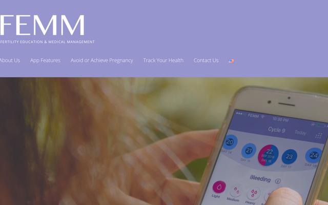 数千人がダウンロードした不妊治療アプリは、中絶反対グループによって資金提供されていると報告されています