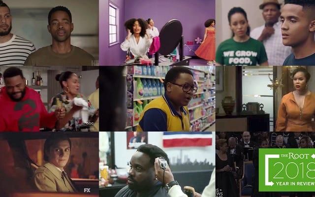 10 najlepszych momentów w czarnej telewizji w 2018 roku