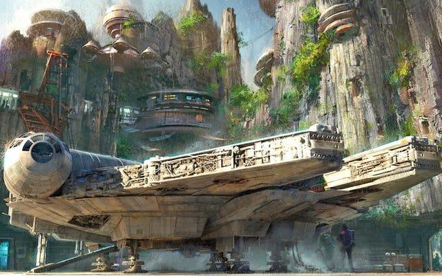 Taman Hiburan Star Wars Baru Hadir di Disney Look Out of This World