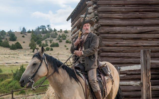 İlginç bir Bill Pullman, Western The Ballad Of Lefty Brown'ı aydınlatıyor