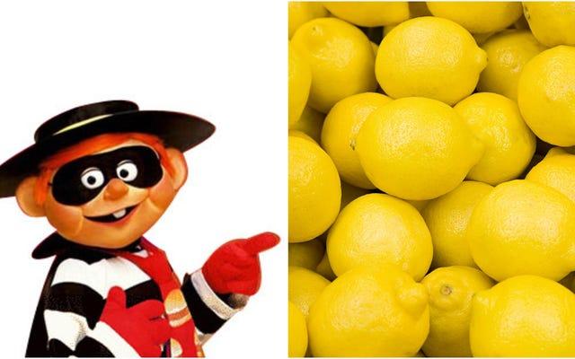 800ポンドのレモンを盗んだとして逮捕された男、動機は不明