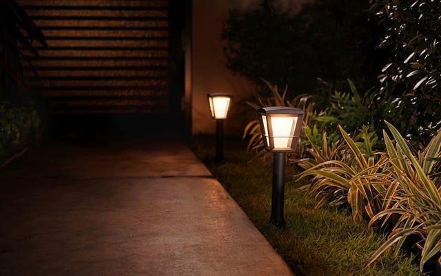 У Philips Hue очень долгожданное обновление программного обеспечения и 3 новых уличных светильника