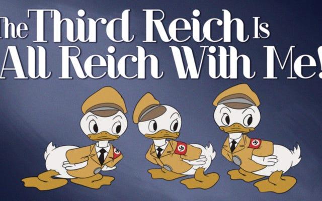Disney Estate dévoile une cache de dessins animés anti-américains destinés à être publiés si l'Axe remportait la Seconde Guerre mondiale