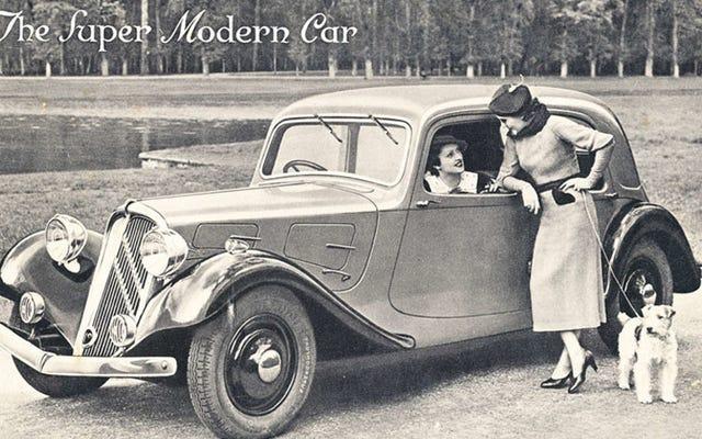 La prima vettura di produzione a trazione anteriore (per una volta) non mentiva sul fatto di essere completamente nuova