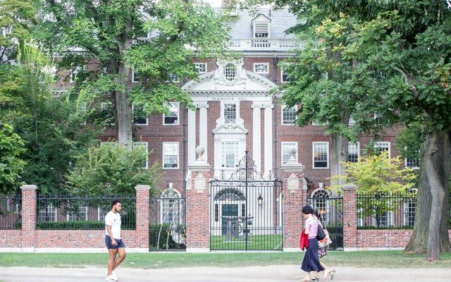 レポート:白人の特権のために参加した白人ハーバード大学の学生の5人に2人-アファーマティブアクションの抜け穴