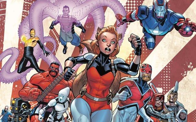 Citizen V pone el calor en Hydra en esta exclusiva de los Vengadores de EE. UU. # 9