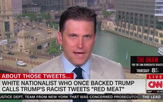CNN zaprasza Richarda Spencera do białej supremacji, aby wyjaśnił, dlaczego Trump nie jest wystarczająco rasistowski