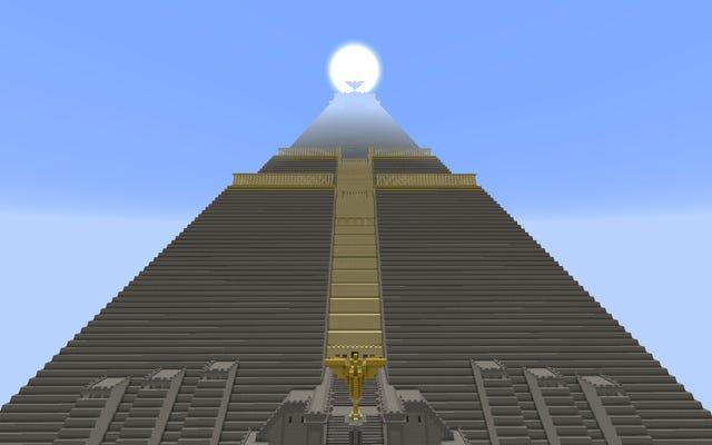 Minecraftで再現されたゲームオブスローンズの大ピラミッド