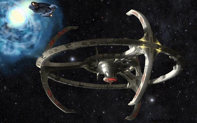 Obejrzyj cyfrową wersję Cast of Deep Space Nine Tour Star Trek Online