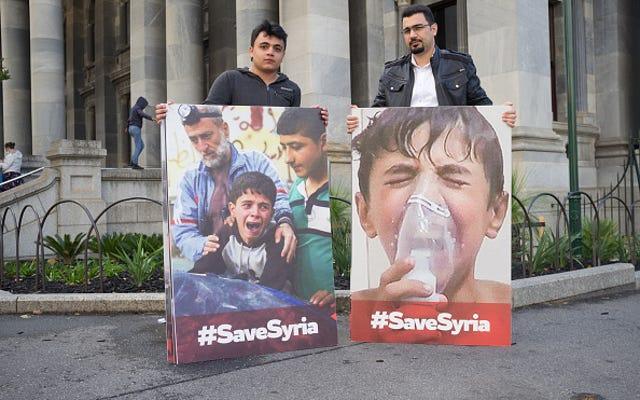 La peau claire des enfants syriens a-t-elle motivé Trump?