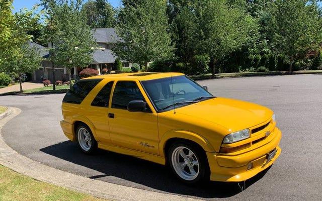 Dengan $ 4.500, Mungkinkah Chevy Blazer Xtreme Tahun 2003 Ini Menjadi Kesepakatan yang Sangat Bagus?