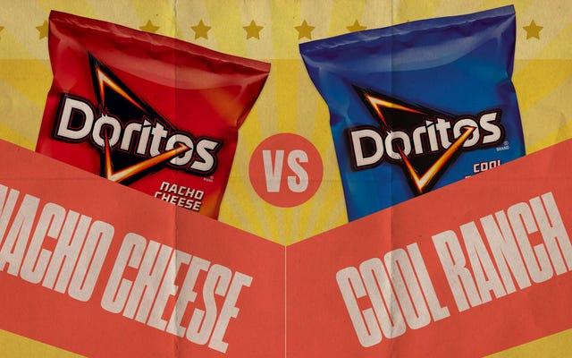 ドリトスの議論を解決しましょう:ナチョチーズ対クールランチ