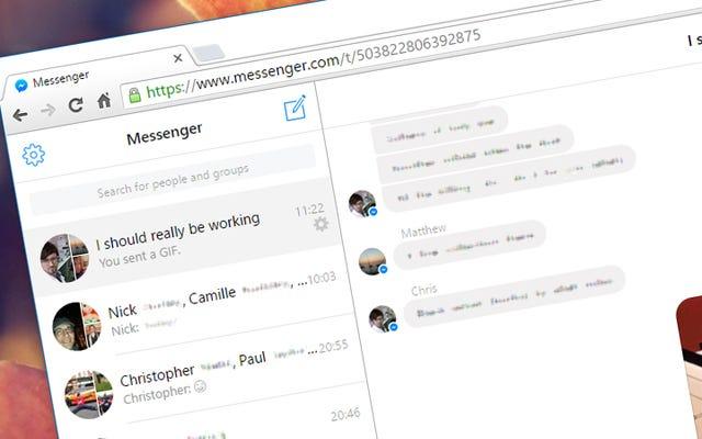 5 เหตุผลที่ควรใช้ Facebook Messenger สำหรับเว็บเบราว์เซอร์