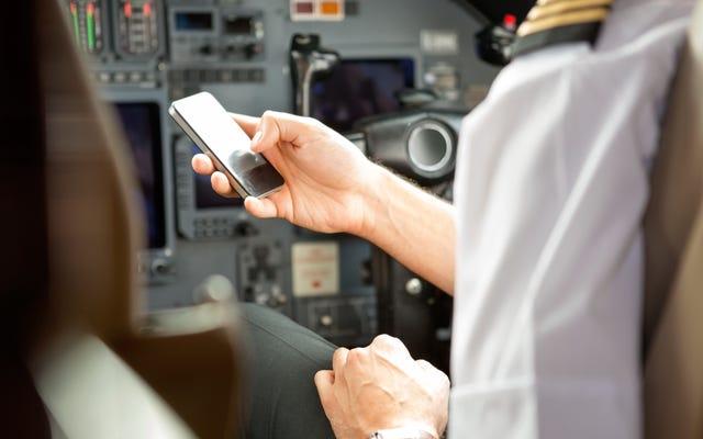 Pourquoi votre connexion téléphonique est lente sur le tarmac de l'aéroport