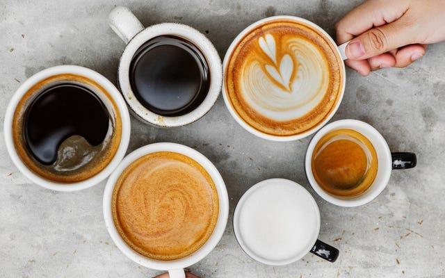 Questo calcolatore di caffeina ti aiuta a pianificare la tua giornata