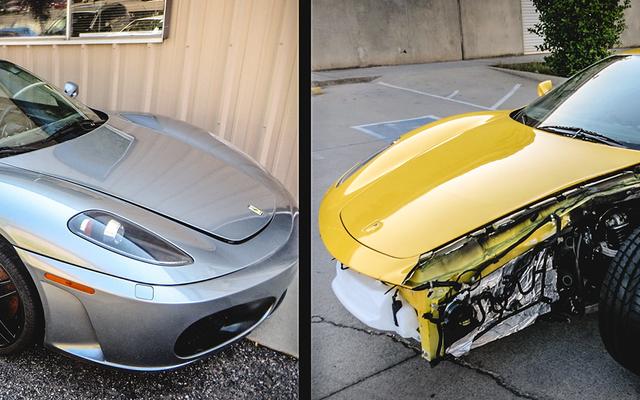 2つの壊れたF430を1つの素晴らしいフェラーリに組み合わせる方法は次のとおりです