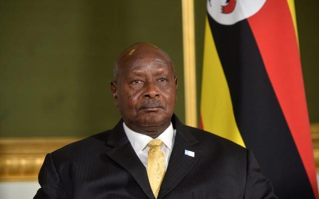युगांडा, गेट योर मैन: युगांडा के राष्ट्रपति ने अफ्रीकी देशों के बारे में ट्रम्प की फ्रैंकनेस को प्यार किया
