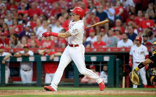 パイレーツ放送局は、デレク・ディートリックの死んだおじいちゃんが彼の本塁打のお祝いを恥じるだろうと言います