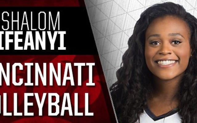 元シンシナティバレーボール選手は、彼女の「グラム投稿がセクシーすぎる」ため、コーチが彼女をチームから追い出したと言います