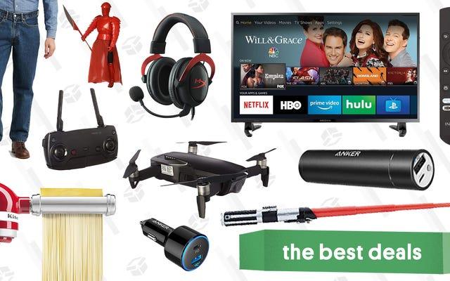 Penawaran Terbaik Senin: iPad $ 250, Drone Pengubah Game DJI, Mainan Star Wars, dan Lainnya