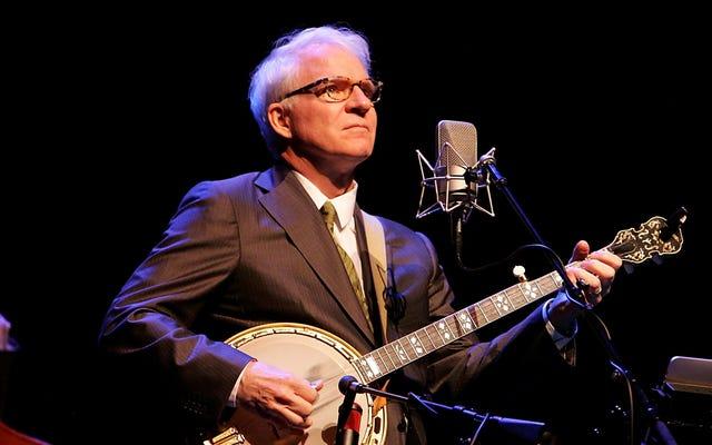 Позвольте Стиву Мартину успокоить вашу душу самым расслабляющим средством: музыкой банджо