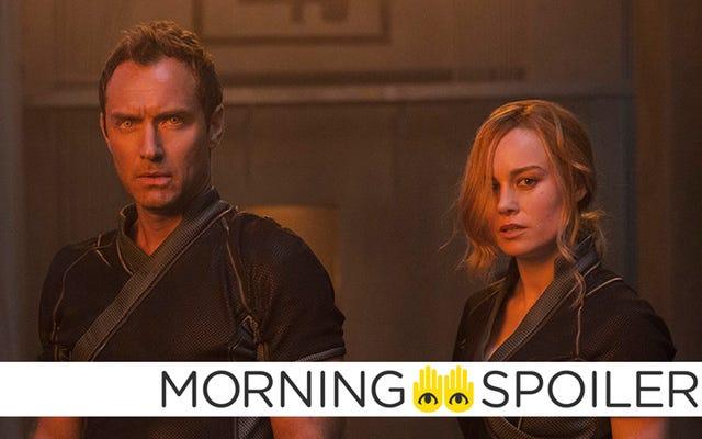 El personaje de Capitán Marvel de Jude Law atraviesa una crisis de identidad