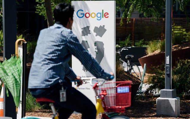 Google जस्ट ने एक और ट्रांस वुमन ऑर्गनाइज़र को निकाल दिया