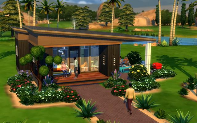 The Sims sta ufficialmente ottenendo piccole case