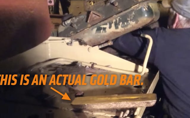 दुनिया के सबसे भाग्यशाली कमीने को इराकी सेना के पूर्व टैंक में मिला 2.5 मिलियन डॉलर का सोना