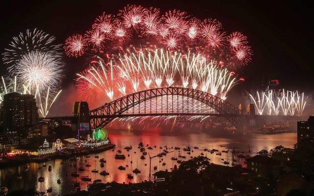 Tonton Video Langsung Perayaan Tahun Baru di Times Square, Disney World, dan Around the Globe