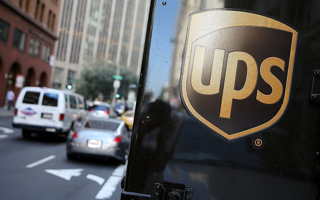 UPS様:あなたは嘘をつきません、クレイグ
