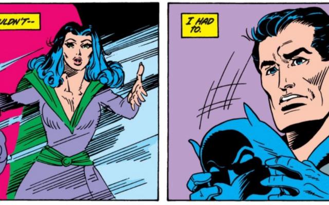 La première fois que Batman et Catwoman se sont vraiment mariés
