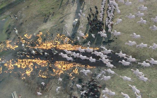 วิดีโอ VFX สำหรับการโจมตี Loot Train ของ Game of Thrones เกือบจะดีกว่าผลิตภัณฑ์สำเร็จรูป